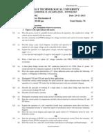 Power Electronics Question Paper