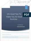 101 Excel Tips to Make You an Excel RockStar