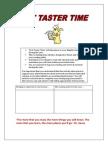 Text Taster Time PRC SAC 7-10