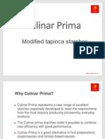 Culinar Prima Presentation