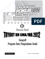 Try Out Geografi SMA
