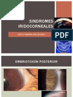 SINDROMES IRIDOCORNEALES