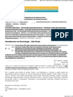 Atendimento em Neurologia – São Paulo  USP - Universidade de São Paulo.pdf