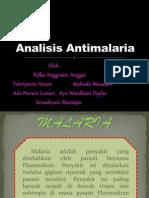 Analisis Antimalaria Kel 3