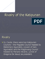 Rivalry of the Katipunan