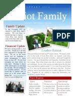 Jan. 2014 Newsletter