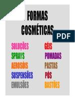 Formas Cosméticas