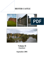 Chester Castle Conservation Plan Vol II