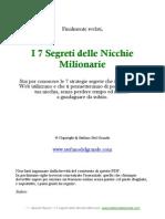 I 7 Segreti Nicchie Milionarie