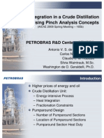 13 Heat Integration in a Crude Distillation Unit Using Pinch Analysis Concepts