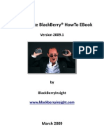 Ultimate Blackberry Howto eBook