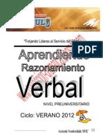 Guia de Razonamiento Verbal Nivel Preunivesitario
