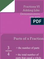 fractions vi