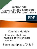 fractions viii