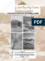 Building and Buying Green a Practical Guide for California Tribes