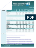 Weekly Market Briefing (January 13, 2014)