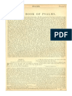 The Book of Psalms with Haydock Commentary - Part I (Psalms 1 -50)