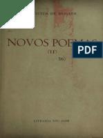 Vinicius de Moraes Novos Poemas II