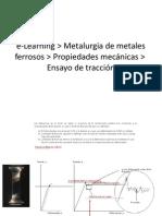 E-learning Propiedades Mecanicas Traccion