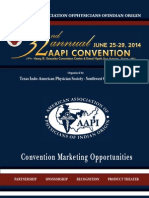 AAPI 2014 Convention Marketing Prospectus