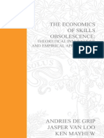 A. de Grip, J. van Loo, K. Mayhew The Economics of Skills Obsolescence, Volume 21 Theoretical Innovations and Empirical Applications Research in Labor Economics  2002.pdf