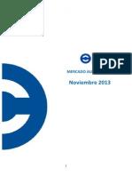 Mercado Automotor Noviembre 2013 ANAC