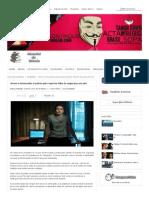 Jovem é denunciado à polícia após reportar falha de segurança em site - Anonymous Brasil