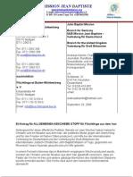 Landtag Baden Wuerttemberg Petition Iran 1