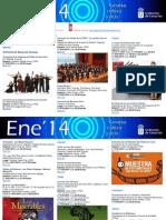 Agenda Cultural ENE Del 15 Al 19 LPA