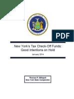 Tax Checkoff 2014