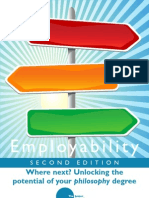 Student Employability Guide for Philosophy Saunders