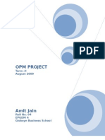 OPM Project Paper Industry