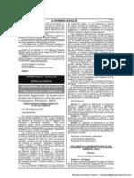 Reglamento de Supervisión Directa de la  OEFA