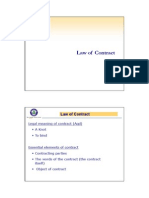 3. Law of Contract - Ornt