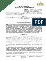 Lei n 2.638-Institui Codigo Ambiental-1
