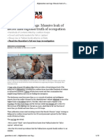 Afghanistan war logs1_ Massive leak of secret files exposes truth of occupation _ World news _ The Guardian.pdf