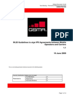 In.20-V1.1 - Guidelines to Sign IPX Agreements Between Mobile Operators and Carriers