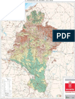 Topographic Map of Navarre