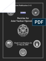 Joint Nuclear Operations - zFacts 2005-03-15