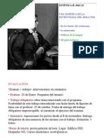 1.Estetica II. 2012-13. Encrucijada
