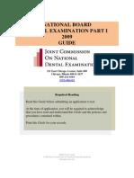 Nbde01 Guide 2009