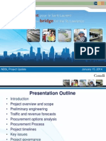 New Champlain Bridge, business case