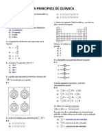 Examen Principios de Quimica