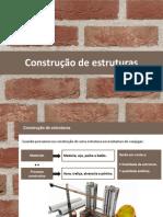 construção de estruturas