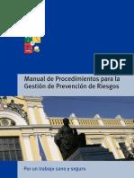 Manual de Procedimientos Para La Gestion de Prevencion de Riesgos