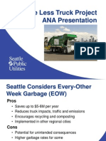 Seattle Public Utilities' every-other-week trash-pickup briefing at Admiral Neighborhood Association