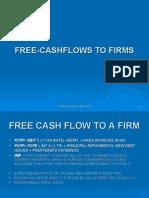 Free-cashflows to Firms