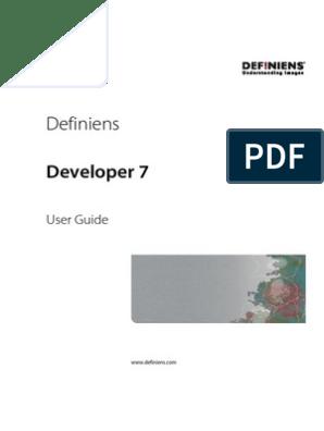 definiens developer 7.0