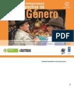 Estrategia de Fortalecimiento con perspectiva de género