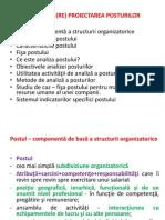 Analiza Si Proiectarea Posturilor
